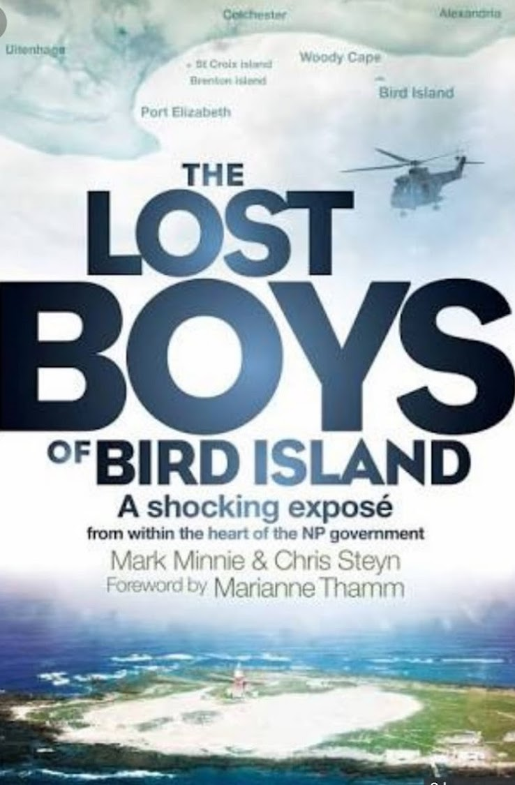 The Lost Boys of Bird Island' a book by former policeman Mark Minnie and ex-journalist Chris Steyn