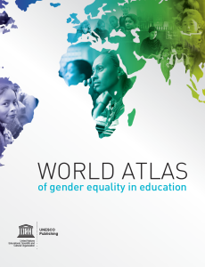 Cover of the UNESCO gender atlas