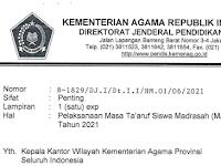 Panduan Pelaksanaan MATSAMA Tahun Pelajaran 2021-2022