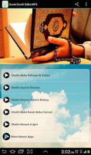 Quran Surah Saba MP3 سورة سبأ - náhled