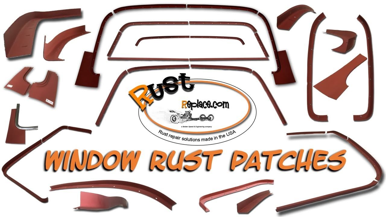 About Our RustReplace com Window Channels and Patches For Your GM A