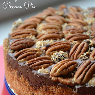 Chocolate Caramel Deep Dish Pecan Pie