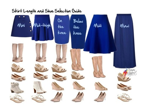 skirt-length-shoe-selection-guide