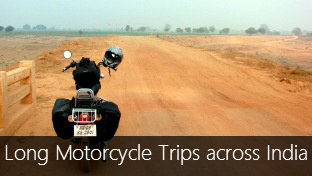 How to plan a long motorcycle trip across India?