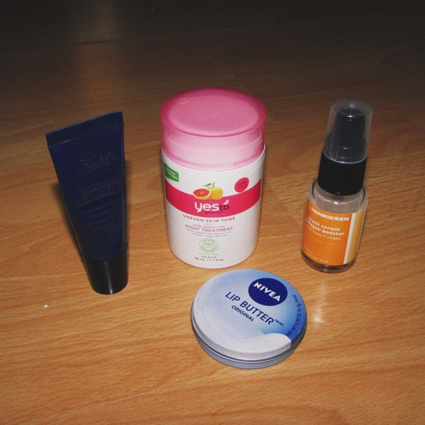 Nighttime Skincare Products 3