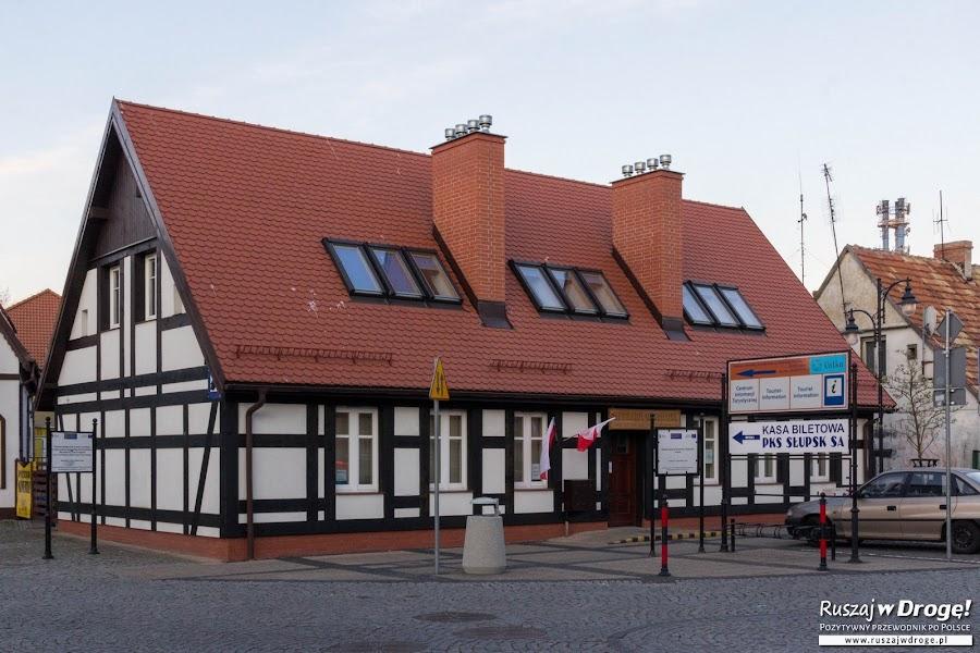 Ustka - odnowiony budynek informacji turystycznej