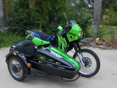 KLR650 & Sidecar