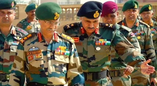 COAS MM Naravane Indian Army Chief