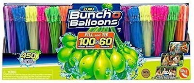 Rapid-Filling Self-Sealing Water Bunch of Balloons