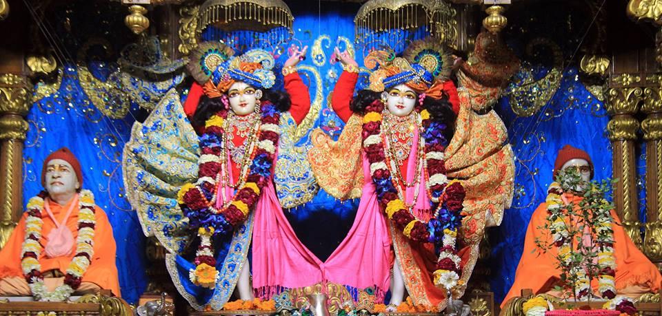 ISKCON Delhi Deity Darshan 08 Jan 2017 (5)