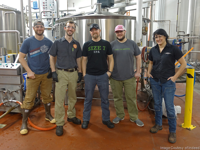 Indeed Brewing & Steel Toe Brewing to Release Collaboration Tan & Black