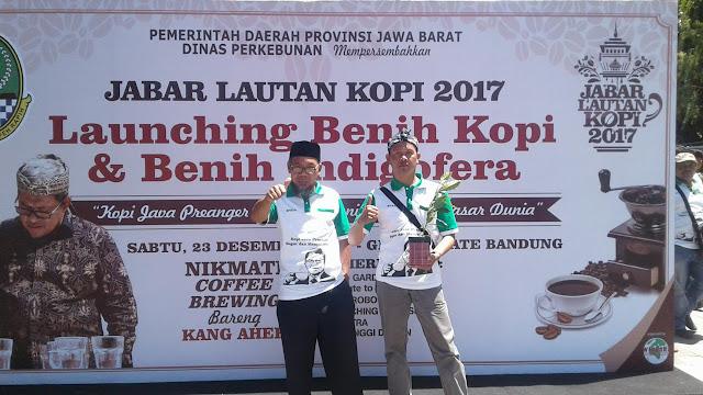 Rekor 1000 Barista di Bandung Lautan Kopi