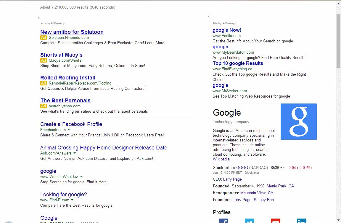 addfreeapp? - Google Chrome Help