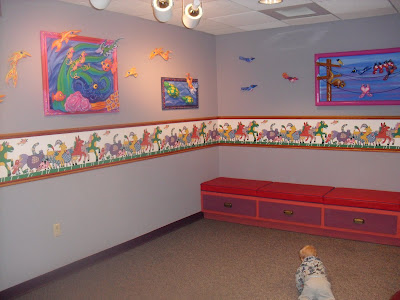 Play Room at the Baby Care Center at Animal Kingdom