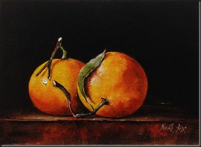 Two Clementines Small