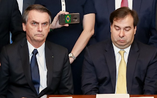 Deputado Rodrigo Maia chama presidente de mentiroso