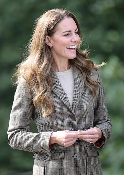 Kate Middleton is seen in her element Abseiling and Mountain Biking