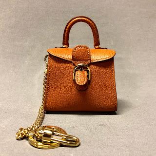 Delvaux Brillant Leather Bag Charm