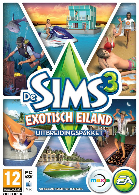 Kapstok Sims 3 2016