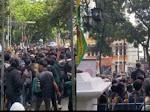 Viral Video Aksi Demo Masyarakat Tolak PPKM  Dan Sejumblah Warung Kibarkan Bendera Putih,.