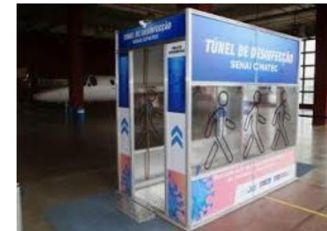 Atenção! Anvisa faz alerta sobre túneis e câmaras de desinfecção de pessoas