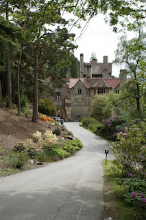 Cragside House in Spring, Northumberland