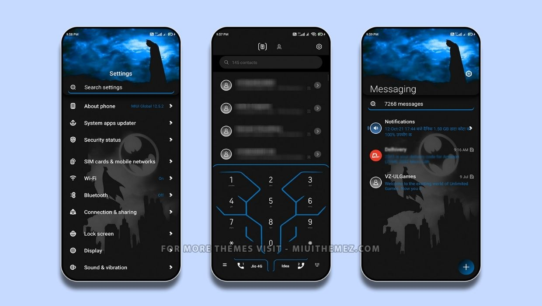 Dark Knight v12 MIUI Theme