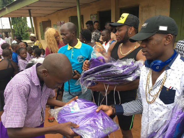 Small Doctor Donates School Bags, Boards And Other Study Materials To Schools