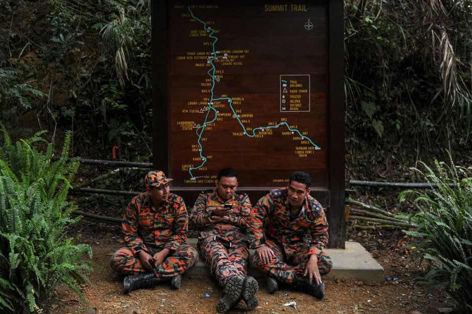 Gempa di Gunung Kinabalu