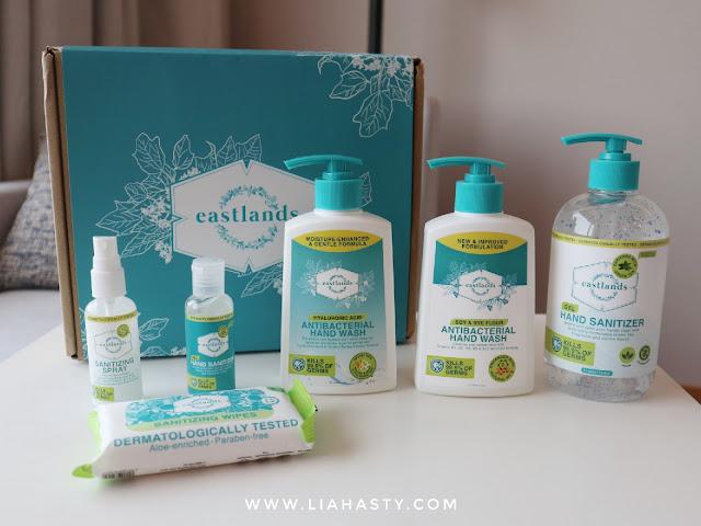 Produk kebersihan buatan Malaysia dari Eastlands