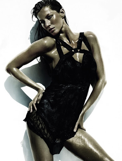 Gisele Bundchen For June Issue of Vogue Brazil