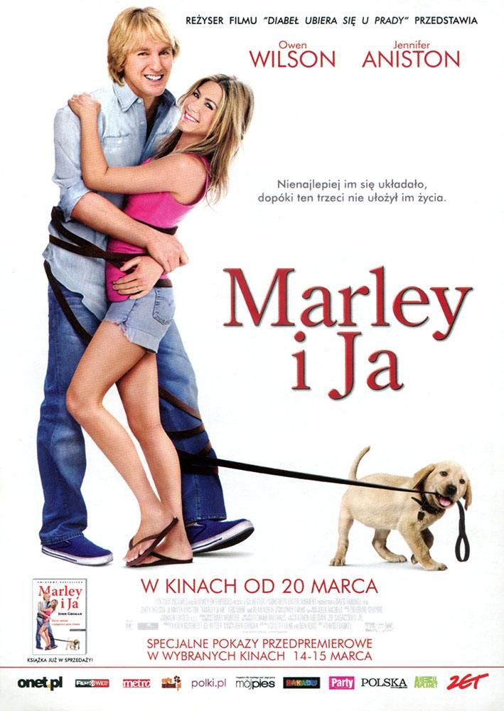 Ulotka filmu 'Marley i Ja (tył)'