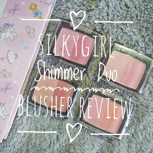 silkygirl shimmer duo blusher review