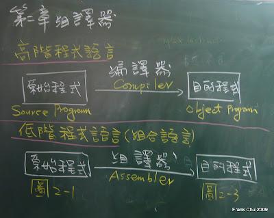 第二章組譯器:組譯器(Assembler)和編譯器(Compiler)的比較