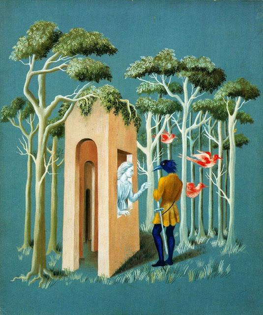 Remedios Varo - Garden of love,1951