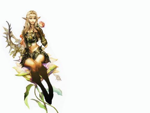 Elfwith A Flower, Elven Girls