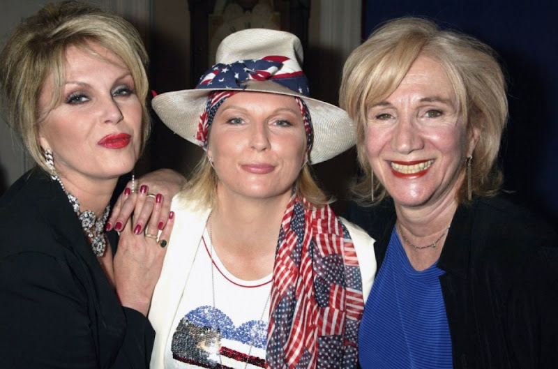 Patsy, Eddie and Olympia Dukakis Olympia Dukakis and Ivana Trump