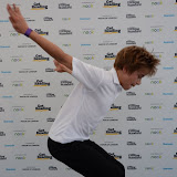 WWW.ENTSIMAGES.COM -   Harrison Dowzell (Billy Elliot )  at  Get Reading festival at Trafalgar Square, London Organised by the Evening Standard in partnership with e-reader firm NOOK July 13th 2013                                             Photo Mobis Photos/OIC 0203 174 1069