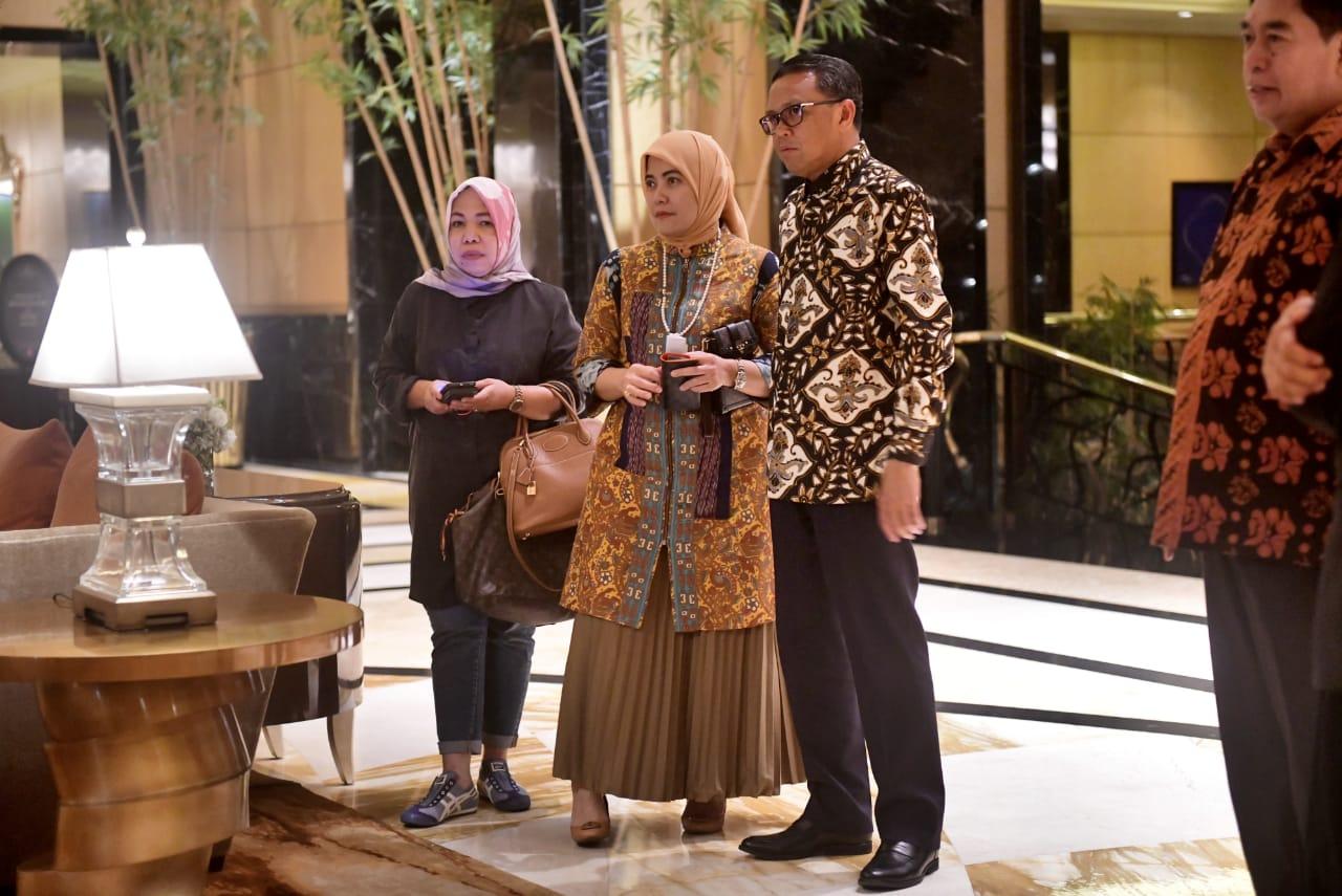 Anggota DPR-DPD RI Terpilih di Pileg 2019 Asal Sulsel Ramah Tamah Dengan Gubernur Sulsel