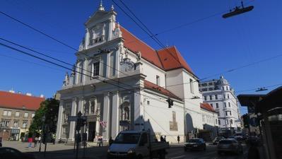 Karmeliterkirche Taborstrasse Wien