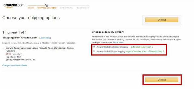 *Как сделать заказ на сайте Amazon.com 9