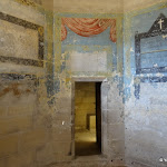 Château de Vincennes : donjon, cellule nord-ouest, décor peint