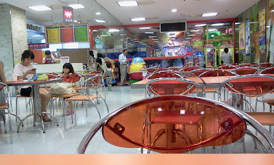 Typical Food Court in department store