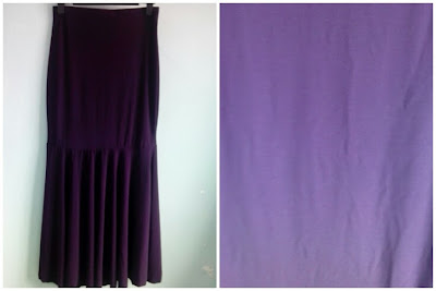 Skirt Mermaid Dark Purple