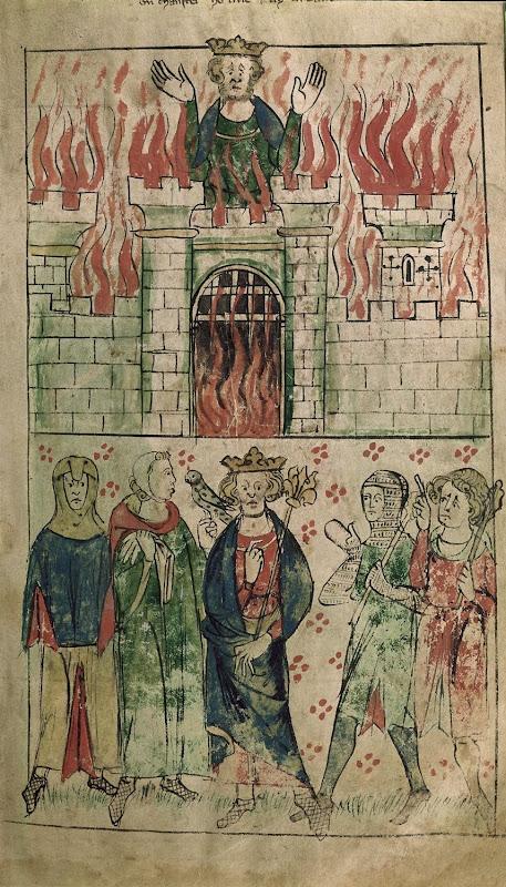 vortigern in the tower