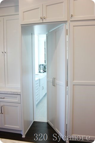 cabinet hides pantry