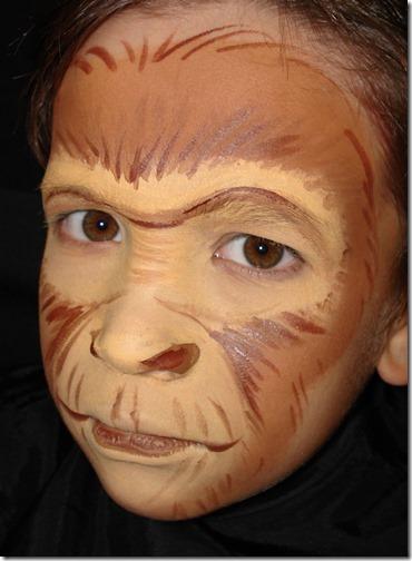 Maquillaje de gorila (14)