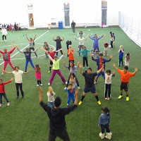 Healhy Living Event - Soccer Centre