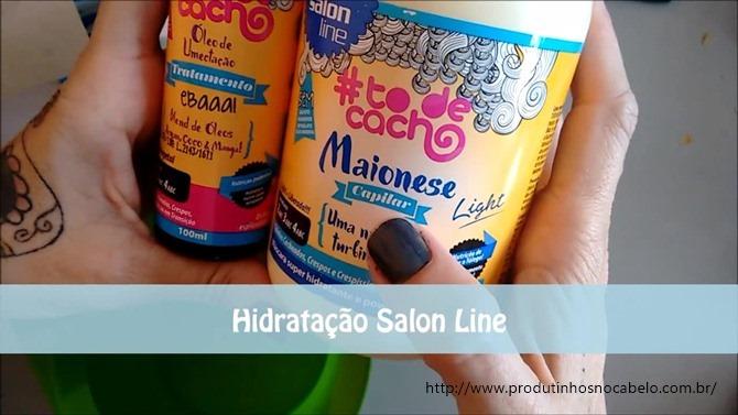 Maionese Salon Line e Óleo