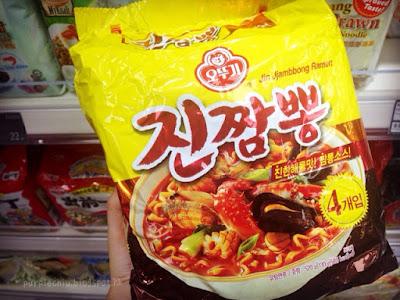 韓國必買公仔麵 ❤️ 不倒翁金海鮮拉麵襲港